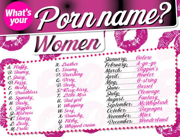 Porn Name
