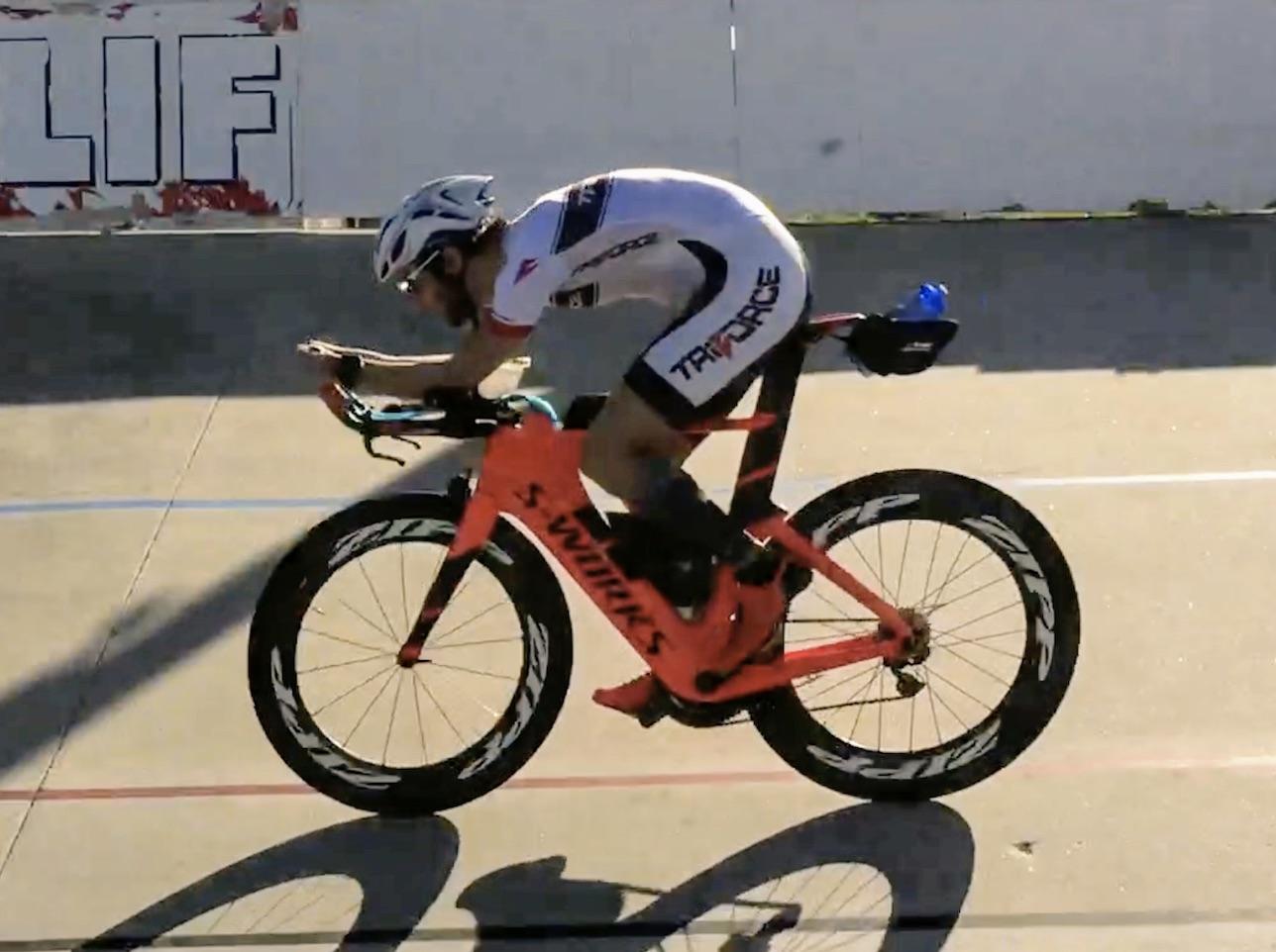 triathlon aero forum slowtwitch visibility helmets triforce coach team